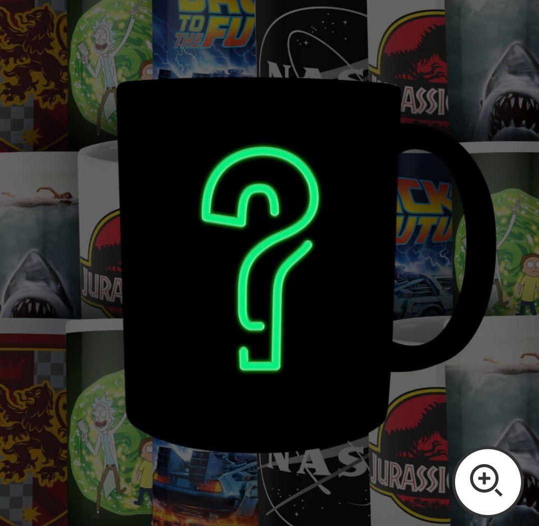 Lot de 4 Mugs Geek Mystère