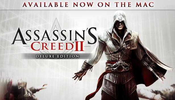 Jeu Assassin's Creed II Deluxe Edition sur PC (Dématerialisé)
