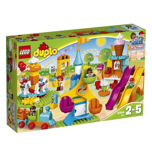 Jeu de construction Lego Duplo - Le parc d'attractions n°10840