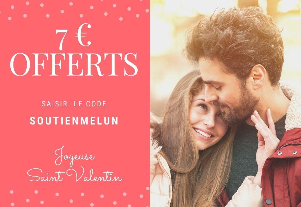 7€ de réduction dès 10€ de commande chez les commerçants participants - Melun (77)