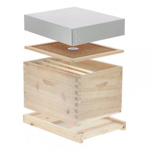 Ruche Dadant Hirondelle Dadant 10 cadres (apiculture.net)