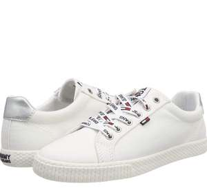 Chaussures basses Tommy Jeans Casual Sneaker pour Femme - Blanc, Tailles 36, 37, 39 et 41