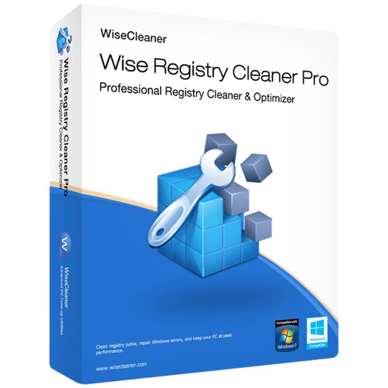 Licence à vie pour Wise Registry Cleaner Pro sur PC - 1 Appareil (Dématérialisé)