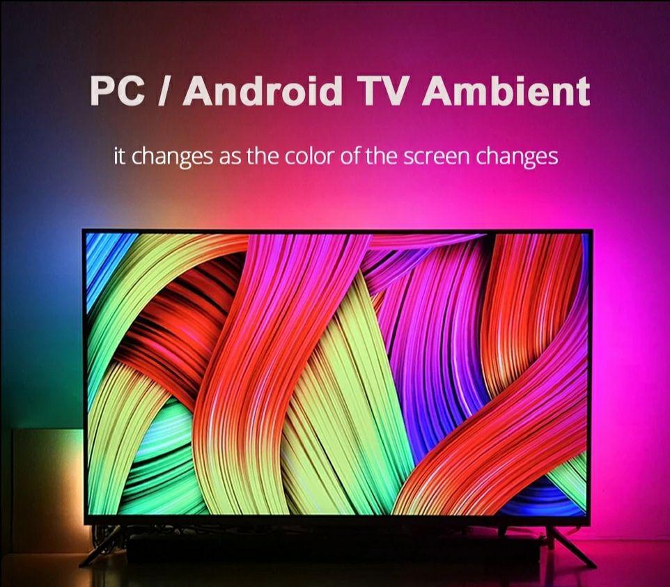 Bande LED RGB Coolo pour TV/PC - 4 mètres (60 Leds/m)