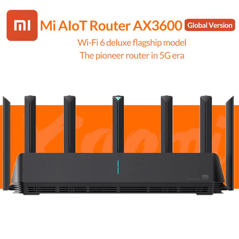 Routeur Wifi 6 Xiaomi AX3600 AIoT - Double bande, 2976Mbs