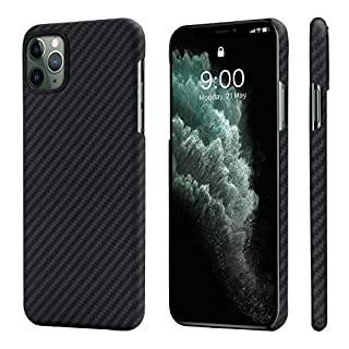 Coque Pitaka pour iPhone 11 Pro - Noir (Vendeur Tiers)