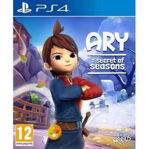Ary and The Secret of Seasons sur PS4 (Vendeur Tiers)