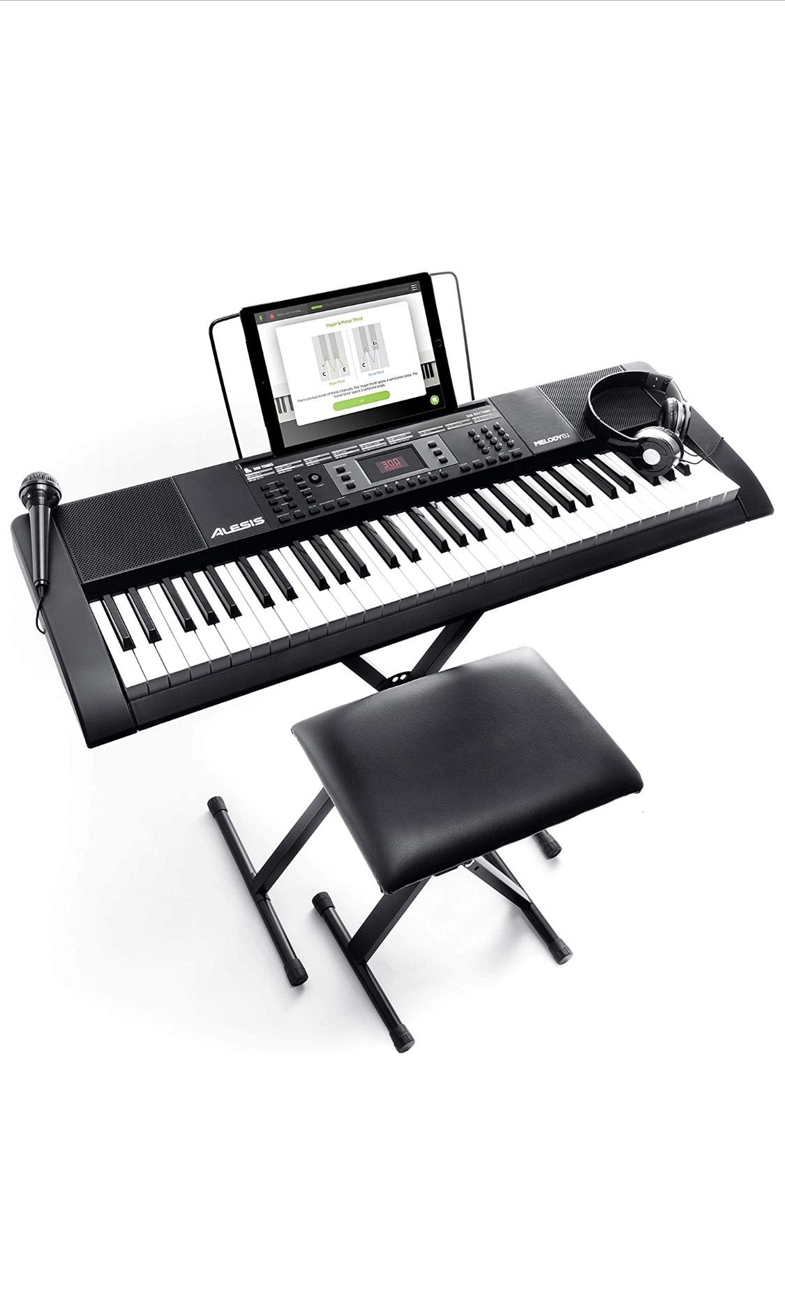 Piano 61 touches électronique portable Alesis Melody 61 MKII