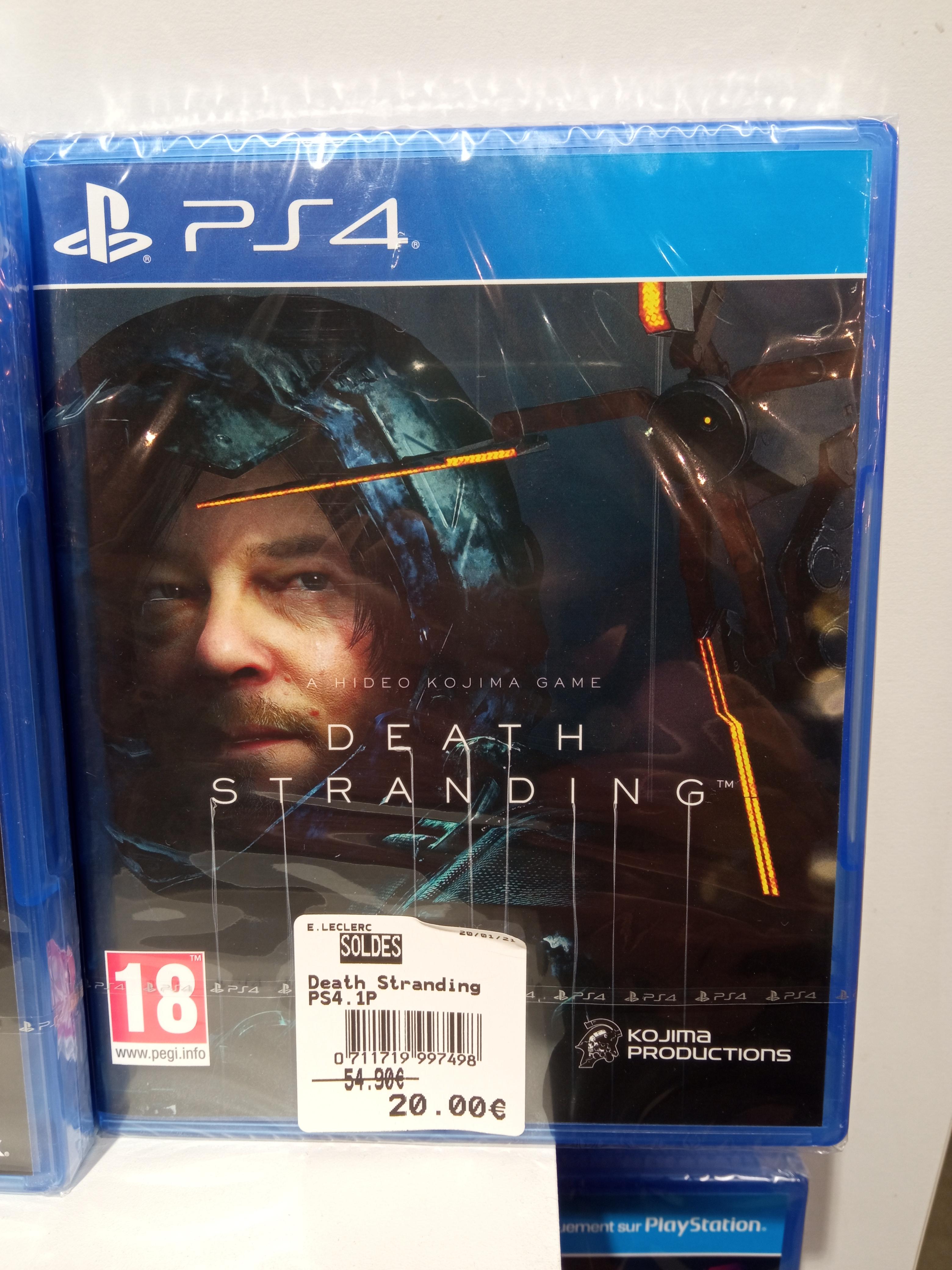 Sélection de jeux vidéo en promotion - Ex: Death Stranding PS4 - Ancenis (44)