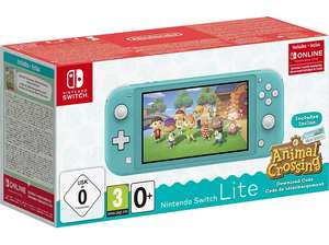 Console Nintendo Switch Lite + Animal Crossing (Frontaliers Allemagne)