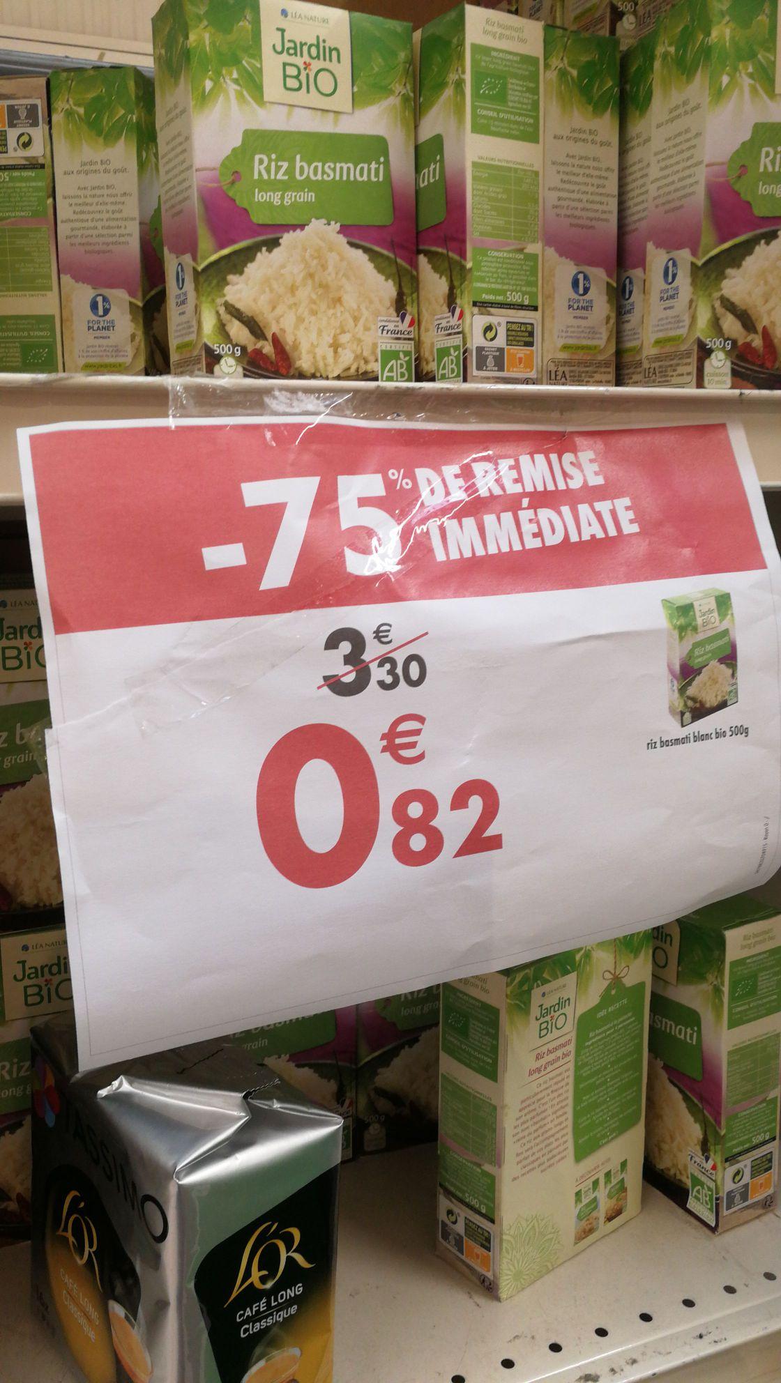 Paquet de riz Basmati Jardin Bio 500g - Champs-sur-Marne (77)