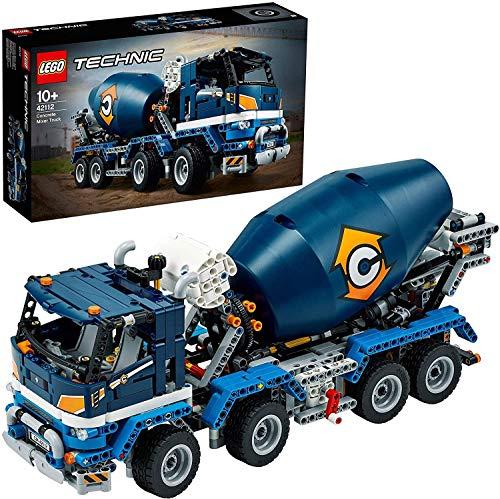 Jeu de construction Lego Technic 42112 - Le camion bétonnière