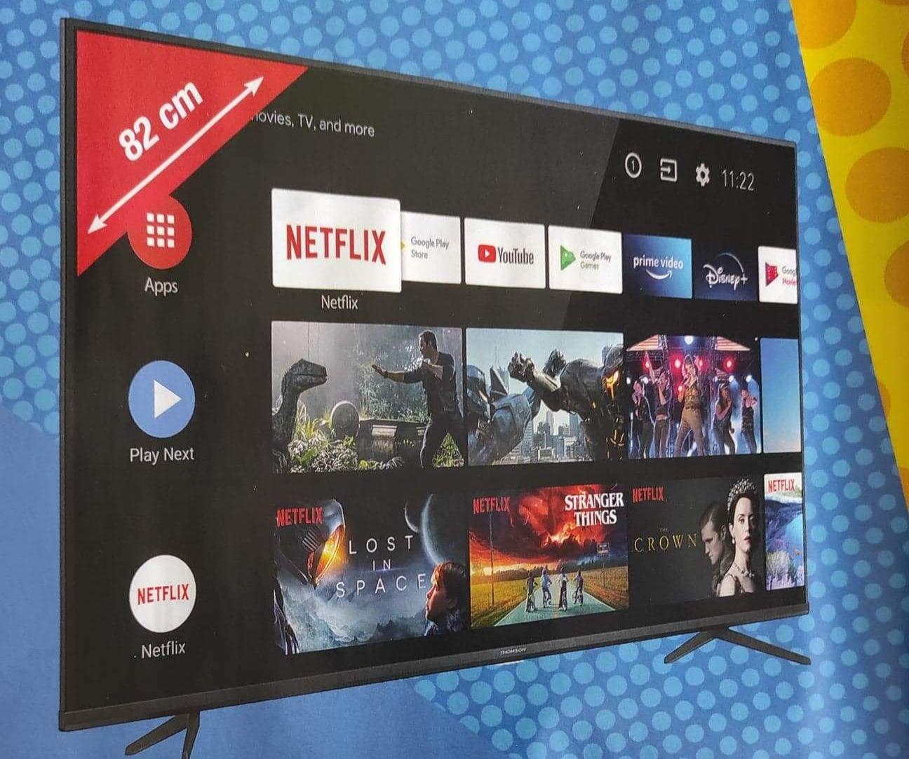 "TV 32"" Schneider 32SC470K (HD, Smart TV) - Ploudalmézeau et Carhaix-Plouguer"