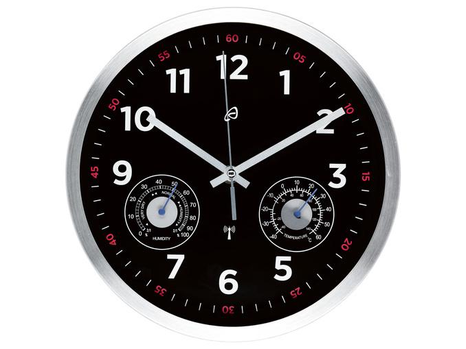Horloge murale - 25 x 4,5 cm, 2 coloris