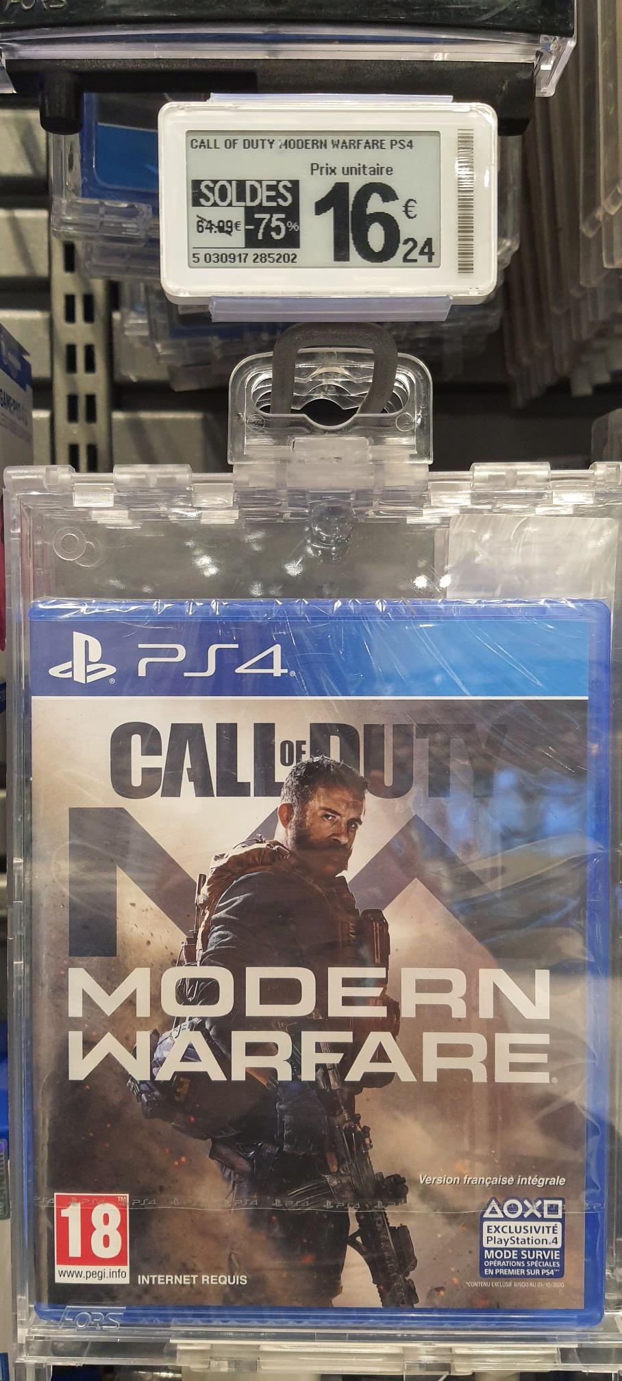 Call of Duty Modern Warfare sur PS4 - Frouard (54)