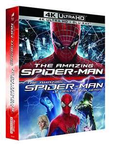 Collection Blu-ray 4K The Amazing Spider-Man + Le Destin d'un héros