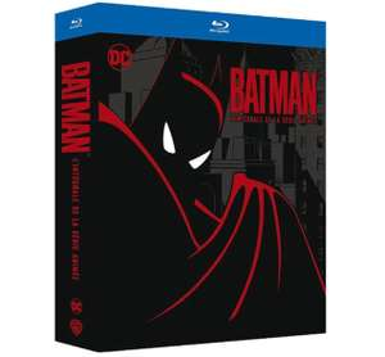 Coffret Blu-Ray Batman - L'intégrale animée des 4 saisons