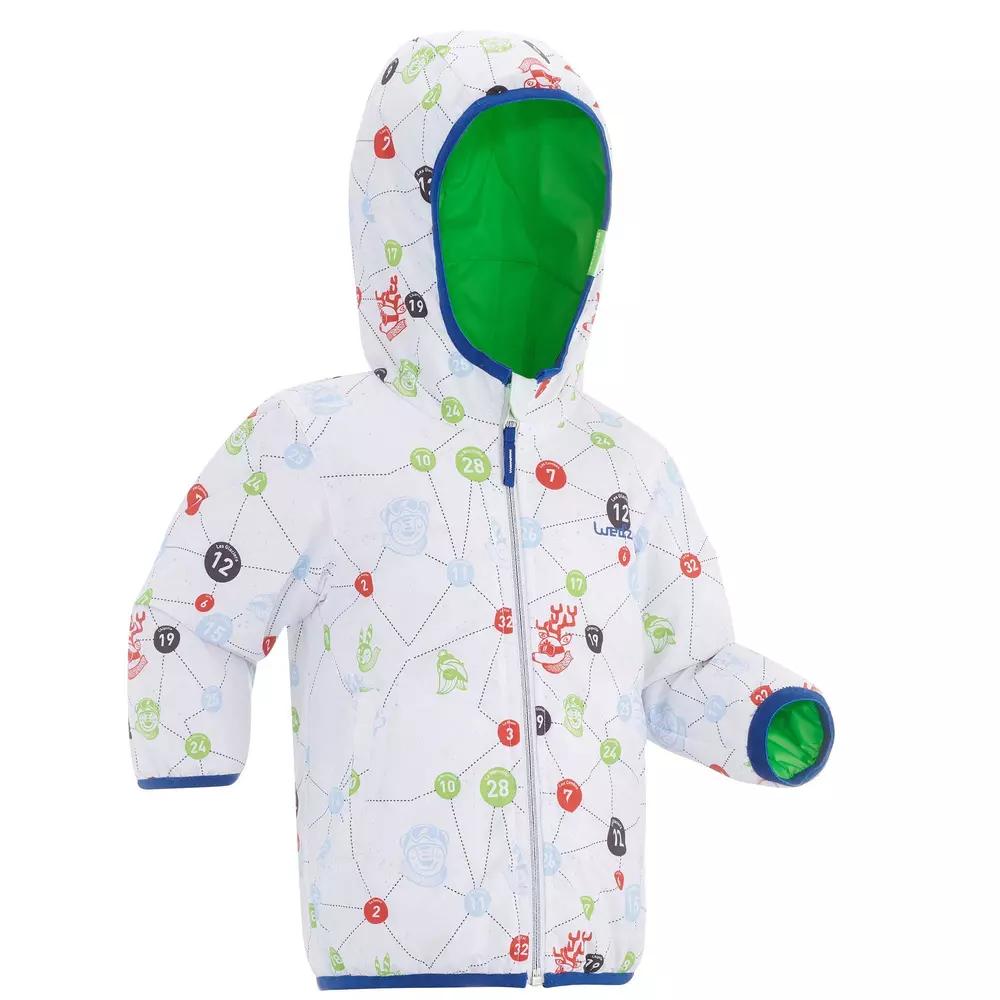 Veste de Ski / Luge réversible Lugik Warm Reverse pour Bébé - 3 couleurs disponibles, 12 mois à 2 ans