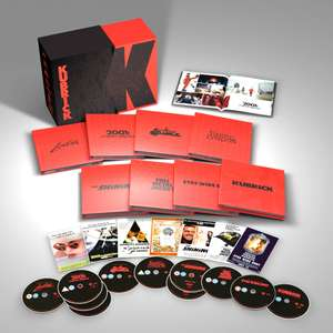 Coffret Blu-ray 4K UHD / Blu-ray - The Stanley Kubrick Limited Edition Film Collection - 11 disques / 8 films (VF Incluse)