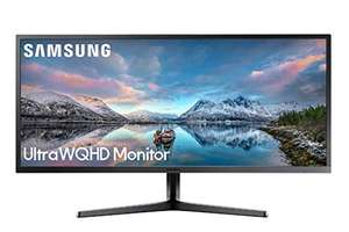 "Ecran PC 34"" Samsung S34J552 - UltraWide, QHD, 4 ms, 75 Hz, VA, FreeSync."