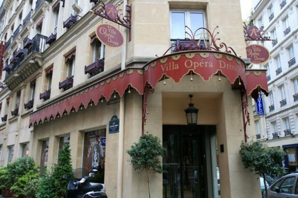 Une nuit à l'hôtel (4 étoiles)  Villa Opéra Drouot à Paris en Avril ou Mai (petit-déjeuner inclus)
