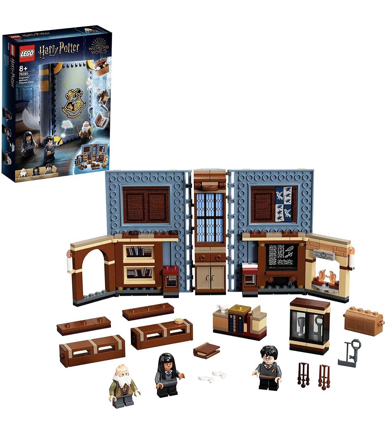 Selection de Lego Harry Potter en promotion Ex: Jeu de construction Lego Harry Potter Poudlard (76385) - Cours de sortilèges