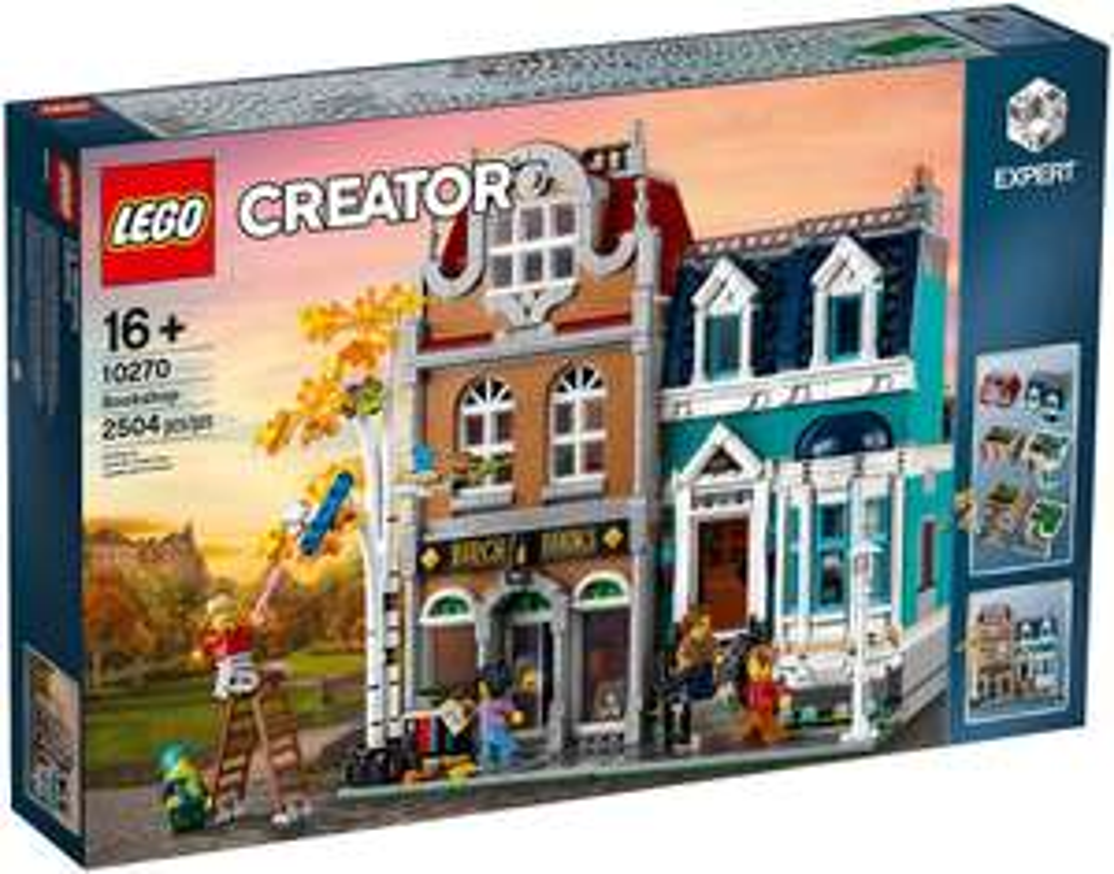Jeu de construction Lego Creator Expert gamme Modular (10270) - La librairie