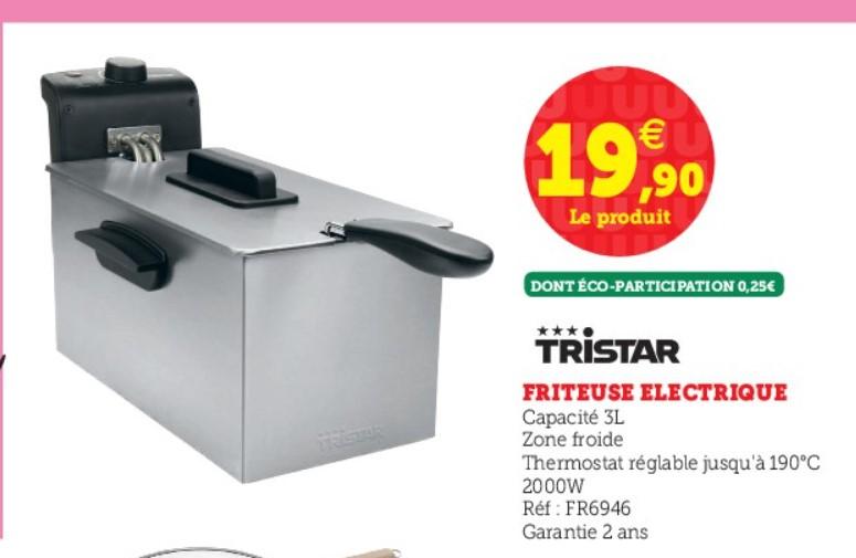 Friteuse Tristar - 3L, 2000W
