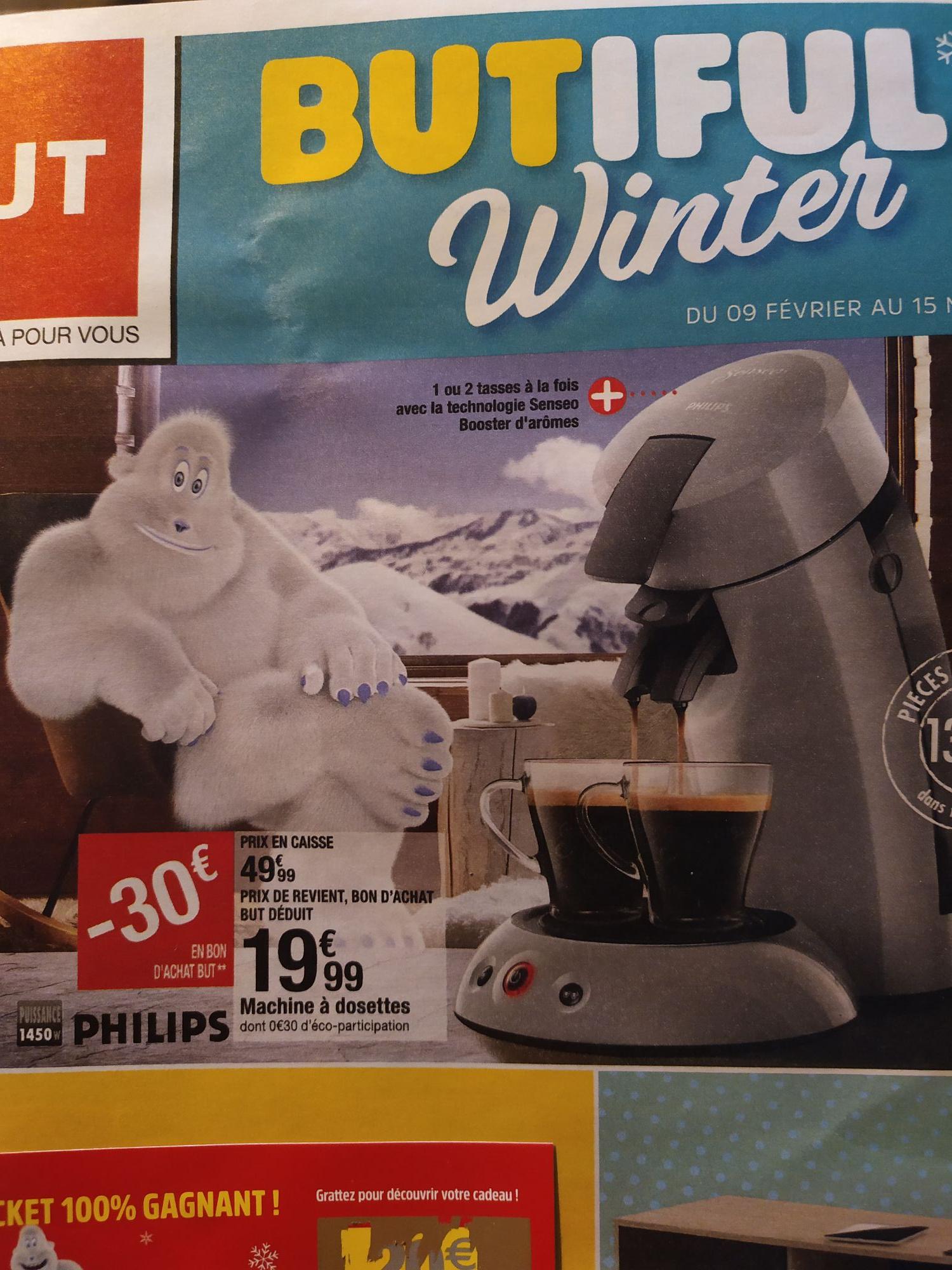 Cafetière à dosettes Philips Senseo Original HD6553/71 - Gris argenté (+30€ offerts en bons d'achat)