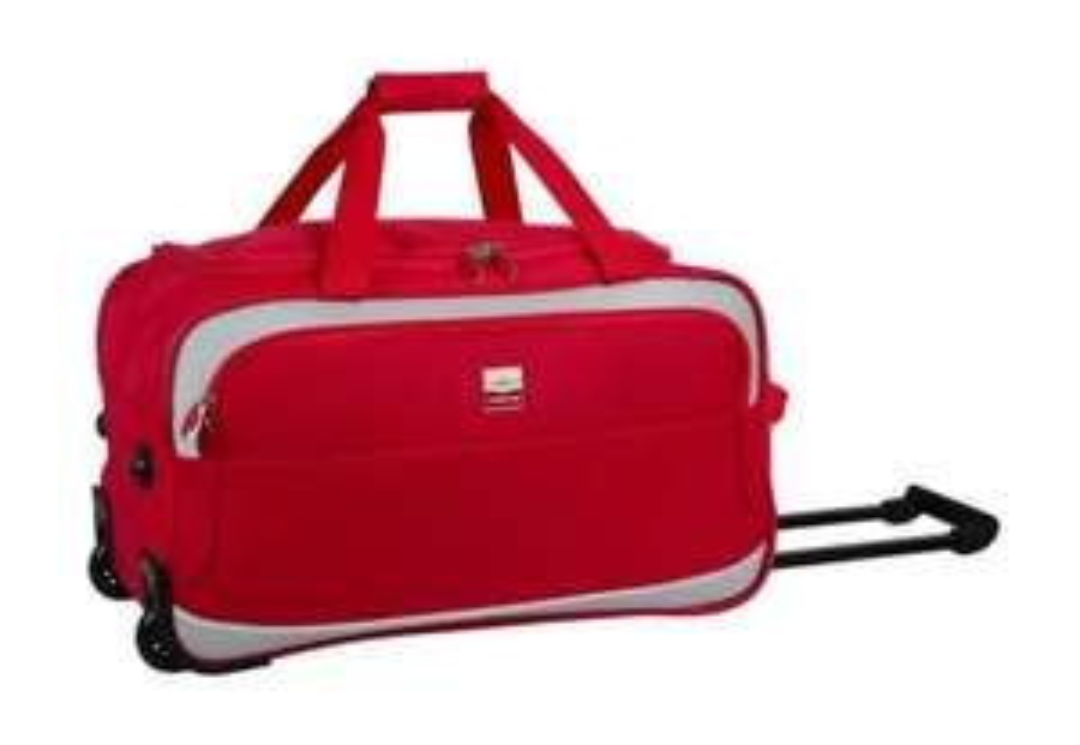 Sac de Voyage à Roulettes Souple France Bag - 56cm (Coloris au choix)