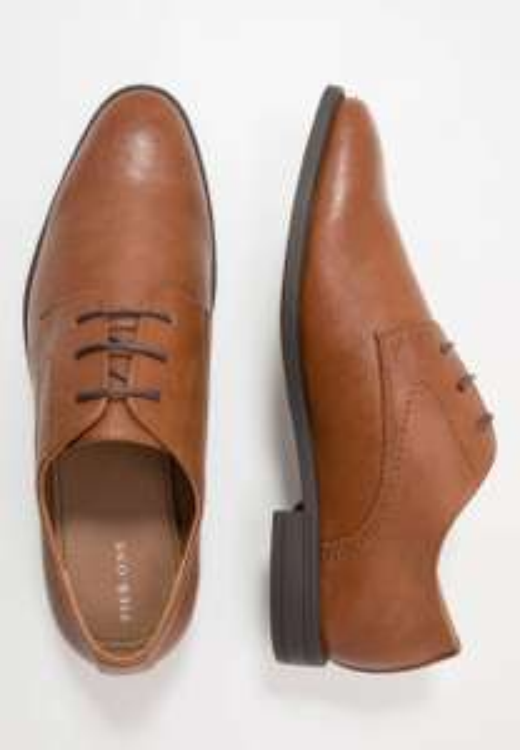 Chaussures Derbies & Richelieus Pier One - cognac , Tailles 42 à 48