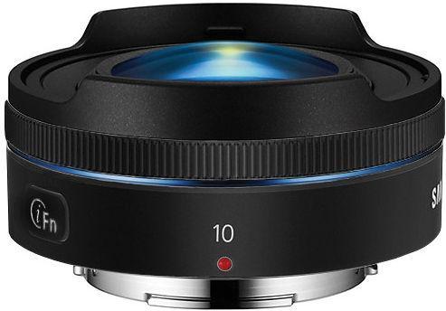 Objectif Samsung NX 10 mm f/3.5 noir