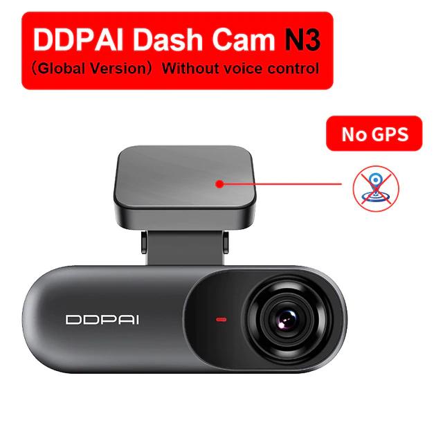 Caméra embarquée DDPAI Mola N3 2K (sans GPS)