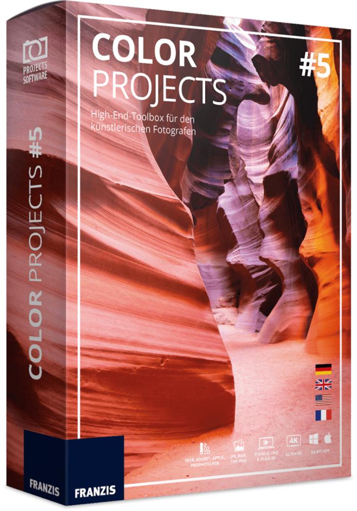 Licence à Vie pour le Logiciel Color Projects 5 sur PC & MAC (Dématérialisée)