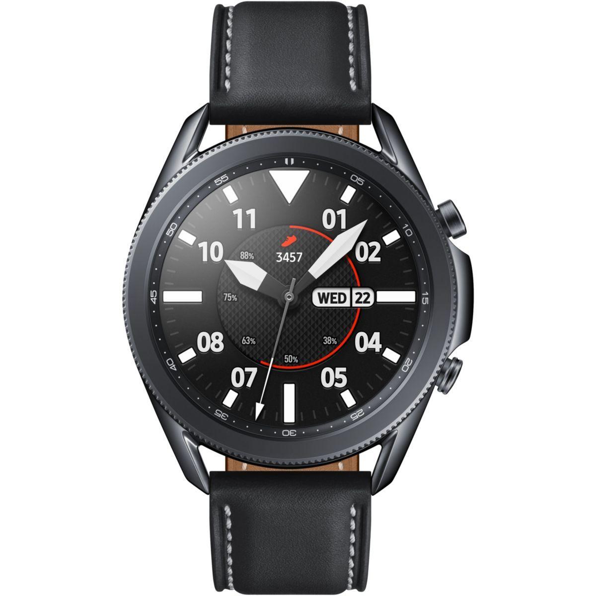 Montre connectée Samsung Galaxy Watch 3 - 45 mm, Noir (+13,50€ en RP)