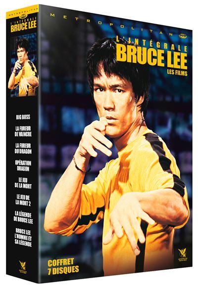 Coffret DVD Bruce Lee
