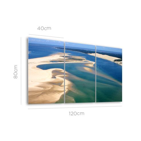 Tableau HD Triptyque 120x80cm ,Tableau HD géométrique 120x120cm