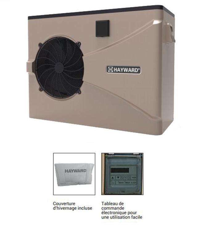 Pompe à chaleur piscine Hayward Easy Temp - 13,8 KW - r410a