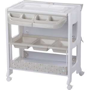 Table à langer Dolphy Warm Grey Safety 1ST (Vendeur Tiers)