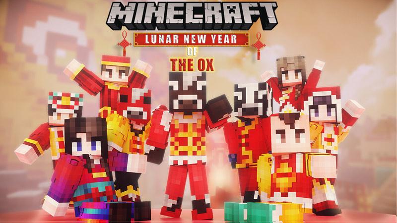 Pack de Skins Lunar New year of the Ox gratuit sur Minecraft (Dématérialisé)