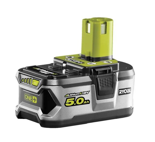 Batterie Ryobi RB18L50 One+ - 5Ah, 18V, Lithium