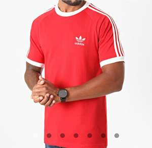 T--shirt adidas Originals GD9934 - Rouge, Tailles S/L/XL