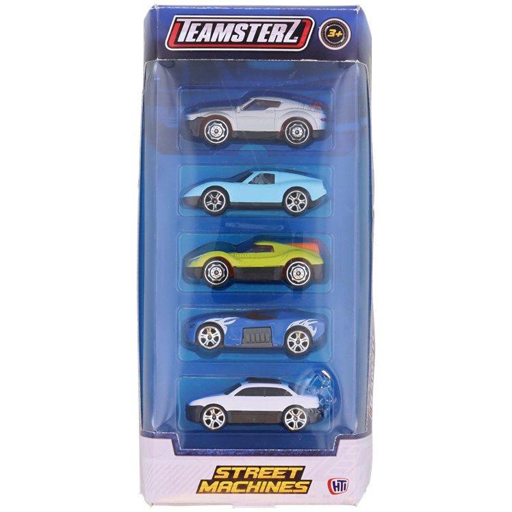 Lot de 5 petites voitures Teamsterz - différents modèles au choix