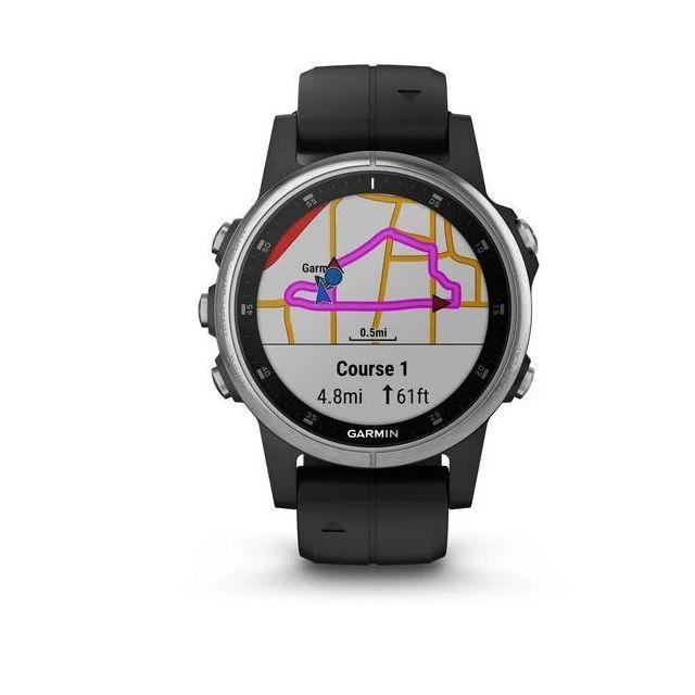 Montre GPS Garmin Fenix 5S Plus - Argent, 42 mm