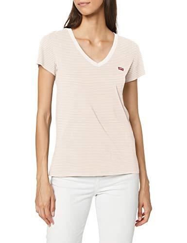 T-shirt Levi's Perfect V Neck pour Femme - Tailles XS au M