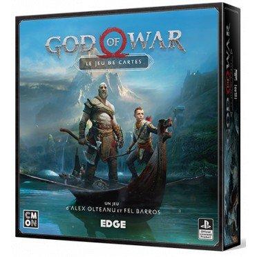 Sélection de jeux de société en promotion - Ex : God of War - Le jeu de cartes