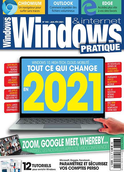 """Abonnement 6 mois """"Windows et Internet pratique"""" (papier + numérique)"""