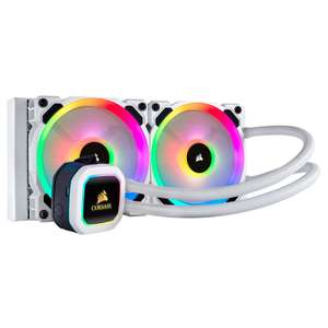 Kit Watercooling AIO Corsair H100i RGB Platinum SE (White) - 240 mm