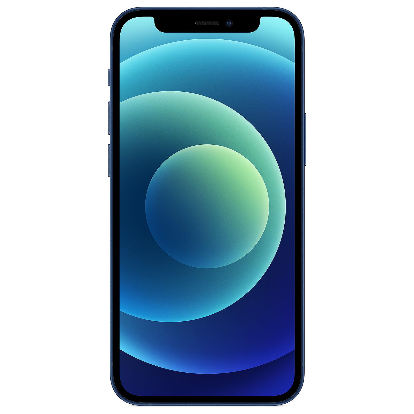 """Smartphone 5.4"""" Apple iPhone 12 Mini - 128 Go, Bleu, sans chargeur & écouteurs (+37.40 en RP)"""