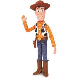 Figurine interactive Lansy Woody Toy Story 4 - 40 cm